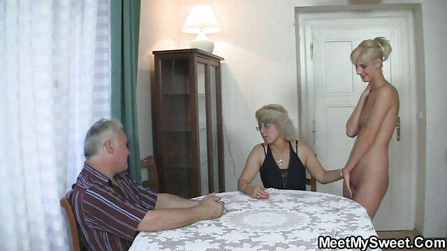 Trío peliculas triple xxx para adultos Madre Hija Tándem Follando Polla Joven